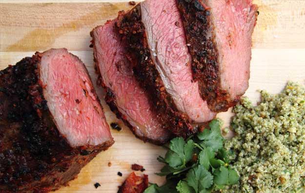 how to cut a roast into steaks
